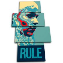 Fantasy TV Show Rule Abstract - 13-6095(00B)-MP04-PO